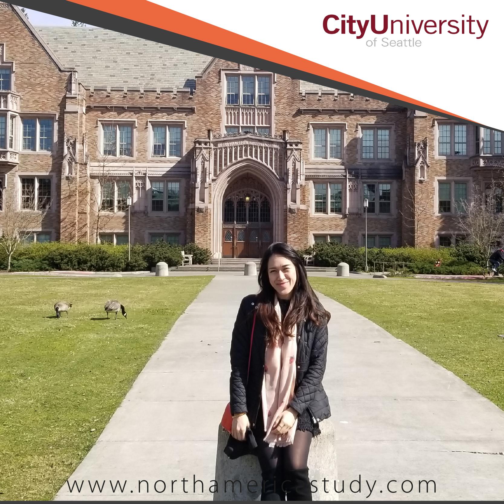 รีวิวจากน้องชมนภัส เรียนที่ City University of Seattle